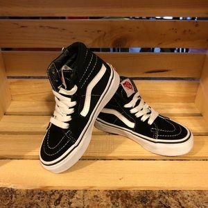 Other - Kids Vans Sk8-Hi sneakers. Size 11. Like new !!
